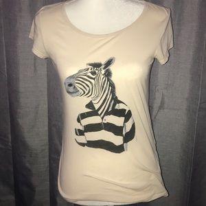 Marc Jacobs zebra tshirt
